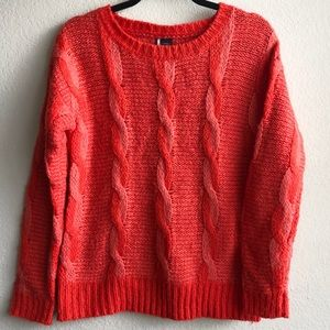 Sparkle & Fade UO Urban Outfitters Red Sweater S